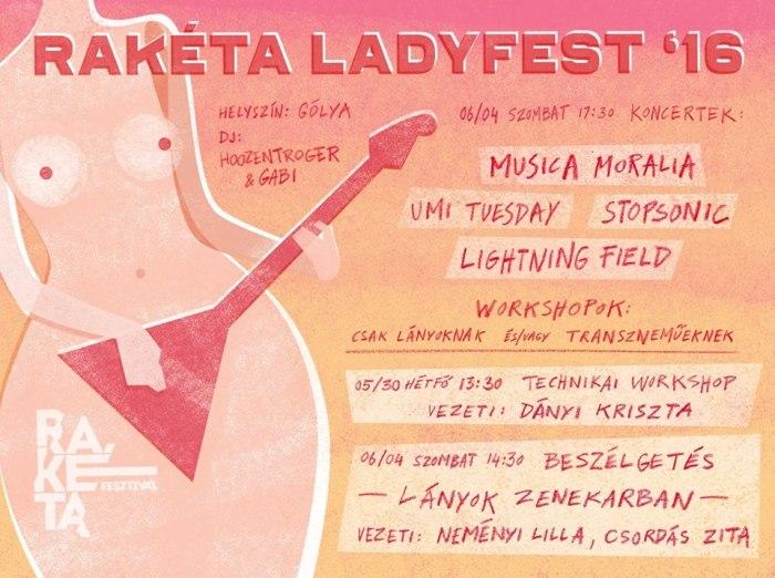 Ladyfest plakát